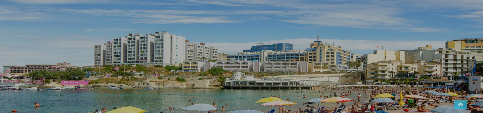 St George's Bay in Paceville malta, Holiday Rentals Malta & Gozo
