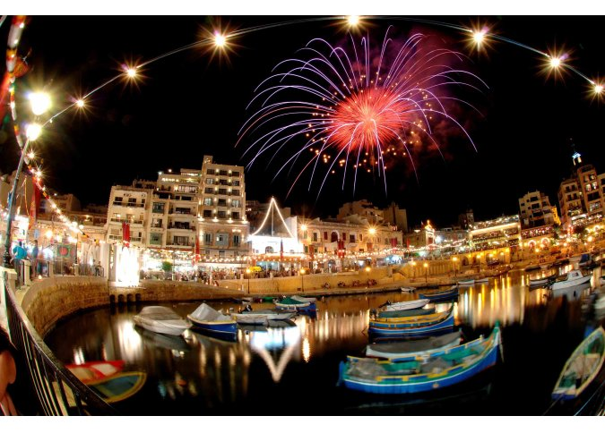 Fireworks every weekend in a Feast of every Village malta, About Holiday Accommodation  Rentals in Malta & Gozo malta, Holiday Rentals Malta & Gozo malta