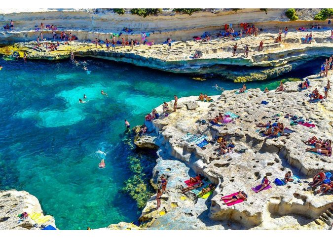 St Peter's Pool Delimara malta, About Holiday Accommodation  Rentals in Malta & Gozo malta, Holiday Rentals Malta & Gozo malta